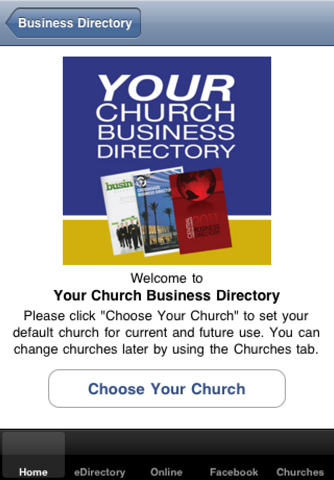 Gdirect Christian Business Directory screenshot 1