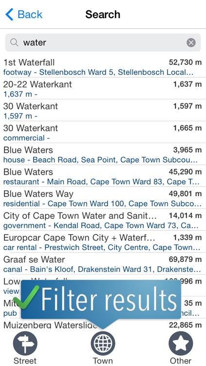 Capetown Travelmapp screenshot-3