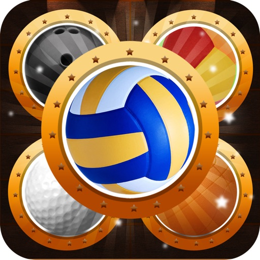 Sport Ball Puzzle Match Blitz - Solve Matching Volleyball & Basketball Quest Hero Pro