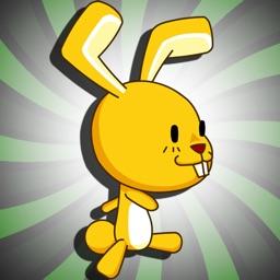 Space Bunny Battle - No Gravity Jungle Jump Free