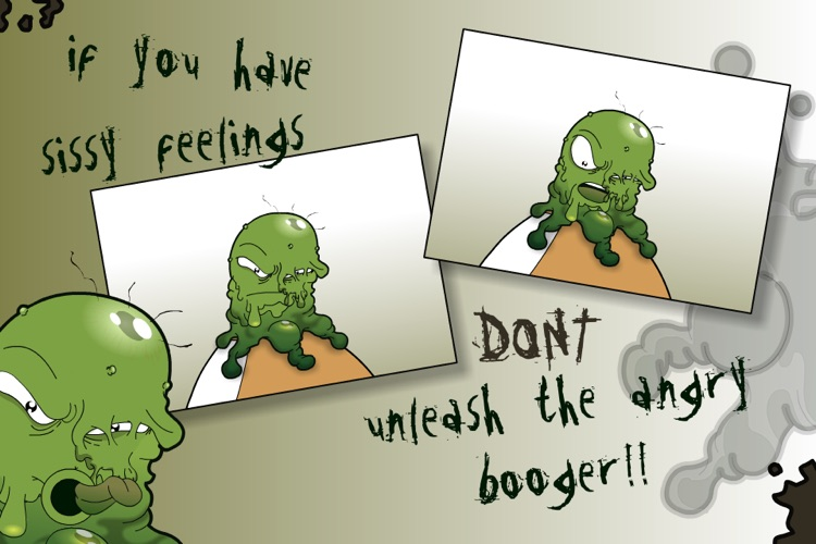 angry booger