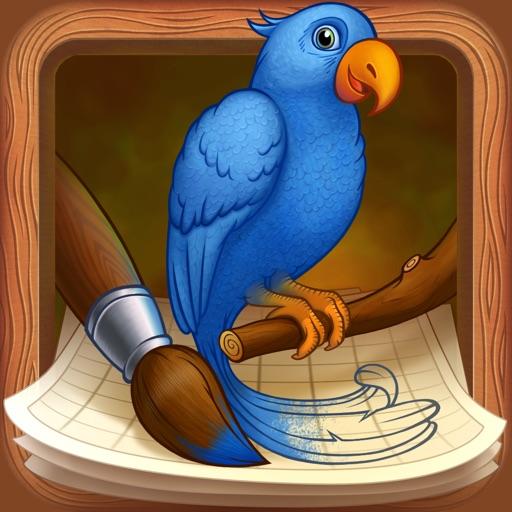 Уроки рисования: учимся рисовать птиц!