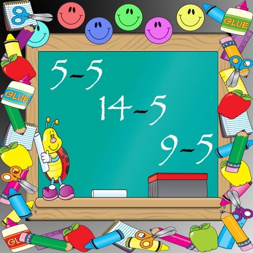 Subtracting 5