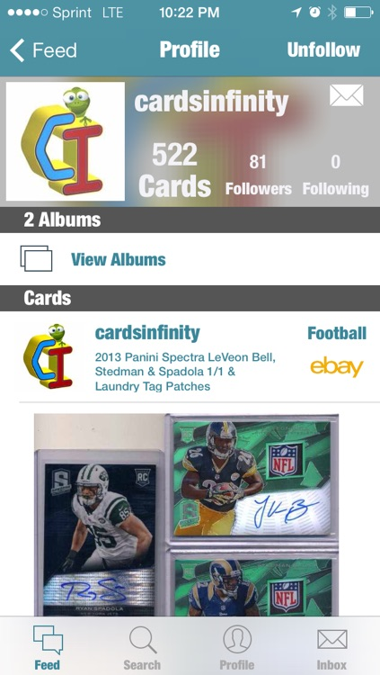 Sports Card Album screenshot-1