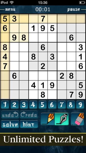 Sudoku Magic - Die beste Sudoku App Screenshot