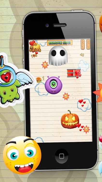 Happy Emoji Jump - A Super Jumping Game FREE Edition screenshot-3