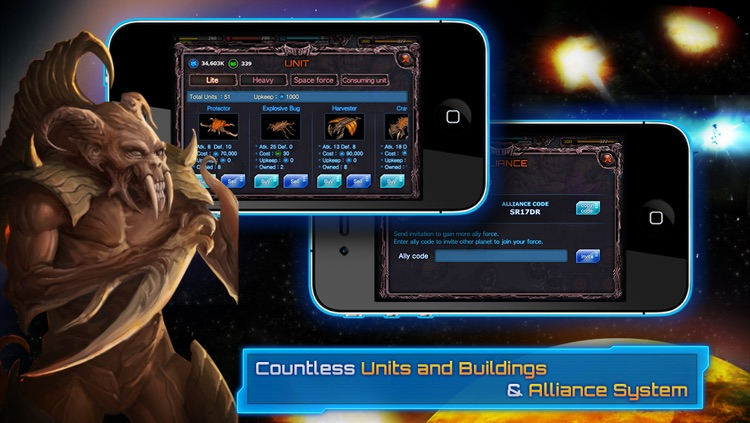 Galaxy War - The New Colony screenshot-3