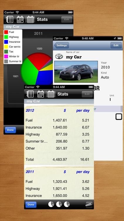 myFuelLog Lite screenshot-3