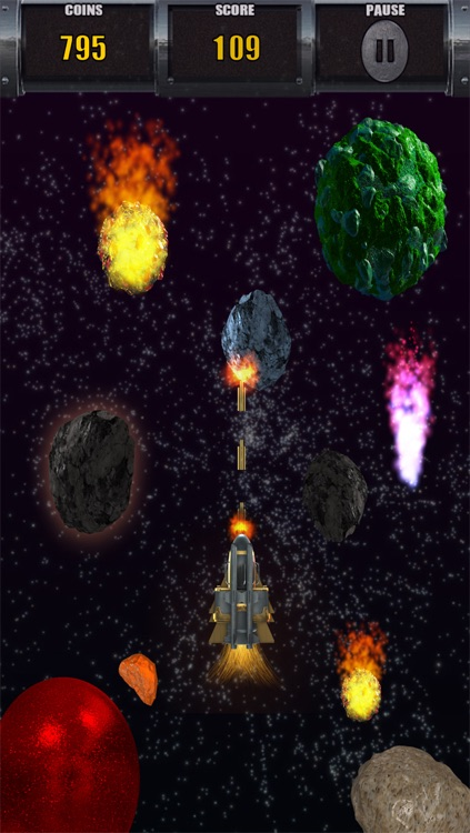Asteroids & Planets Clash - Space Shooting Multiplayer screenshot-3