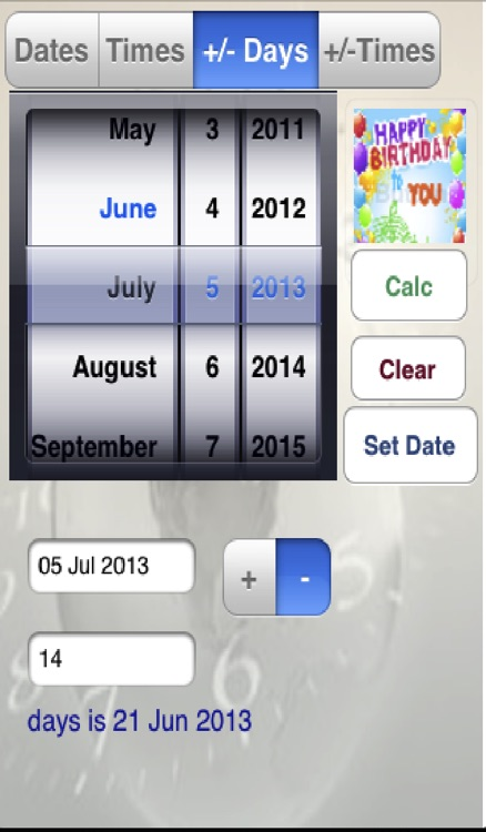 Date & Time Calc screenshot-0