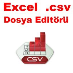 Excel .Csv Dosya Editörü ve .Xls dosya çevirici