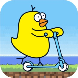 Scooter Bird - No Flappy, Just Slither Dash, Geometry BG