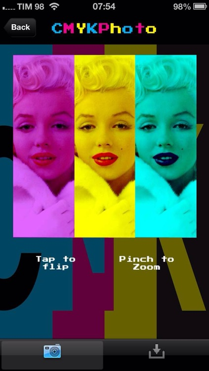 CMYKPhoto FREE - Perfect CMYK effect for your photos (Cyan, Magenta, Yellow and Black)