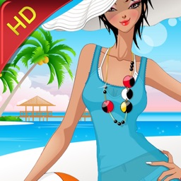 Beach Fashion HD Lite: Dress up and makeup game