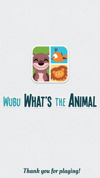 Wubu What's The Animal - FREE Quiz Game screenshot-4