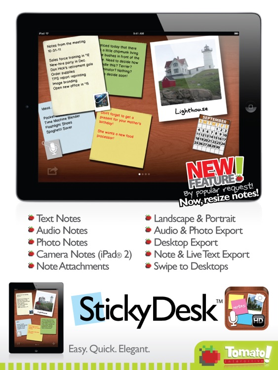 Sticky Desk