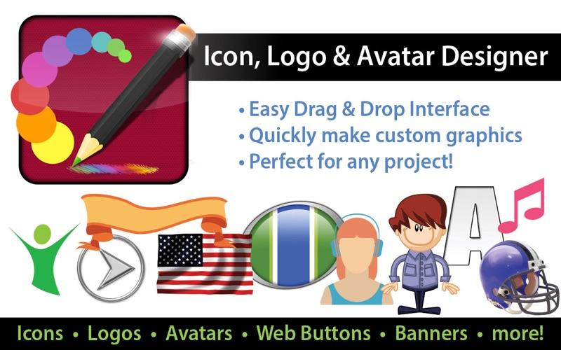 Icon Logo and Avatar Designer Screenshot