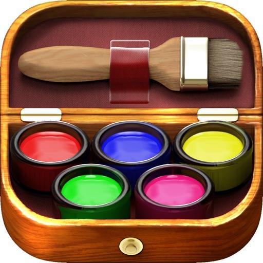 iКраска - волшебная детская раскраска
