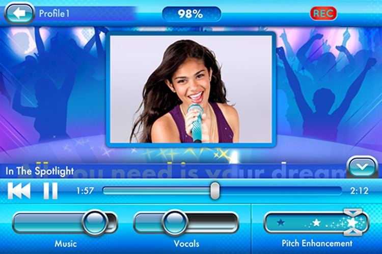 Disney Spotlight Karaoke screenshot-0