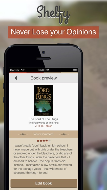 Shelfy the Personal Bookshelf screenshot-3