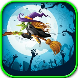 Floppy Witch – Tap tap, flying game, free game for kids, flying city, jumping game