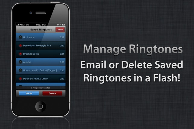 Create Ringtones! Screenshot