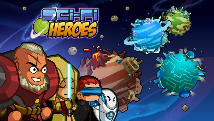Sci-Fi Heroes screenshot-4