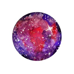 WalaxyPic WaterColor Galaxy Effect