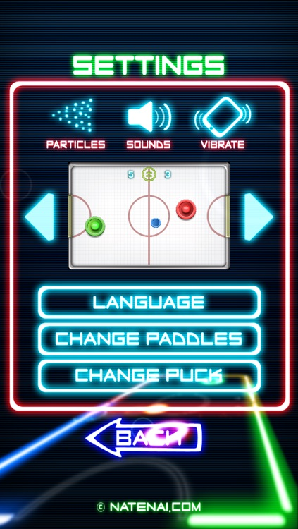 Glow Hockey 2 screenshot-4