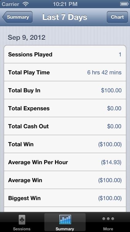 Poker Sheet screenshot-4