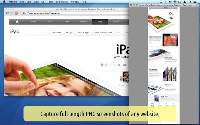 Browseshot on the mac app store screenshots ccuart Image collections