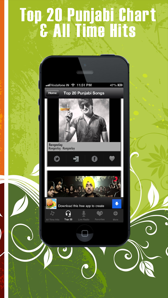 Punjabi Songs And Live Radio by ABS Technologies (iOS, United States