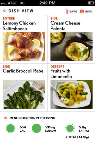 Cooking Light Recipes review screenshots
