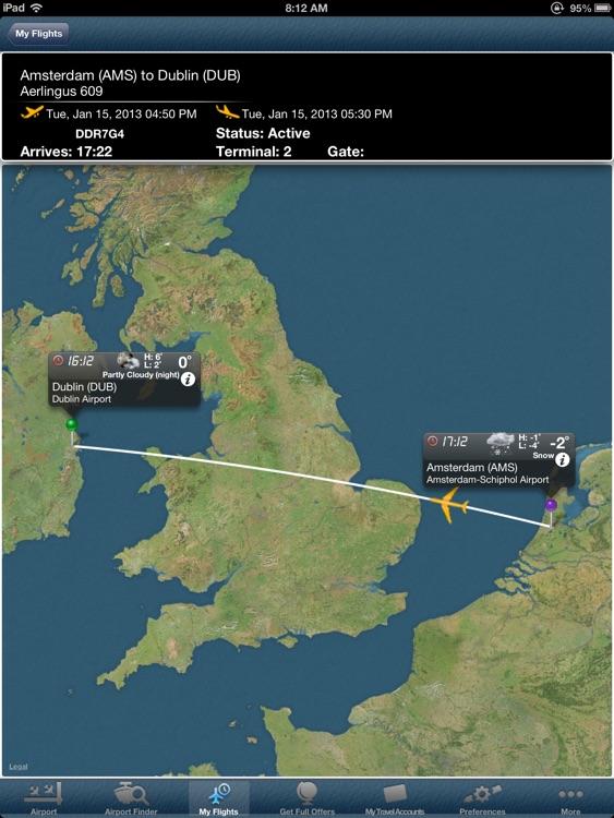 Dublin Airport + Flight Tracker
