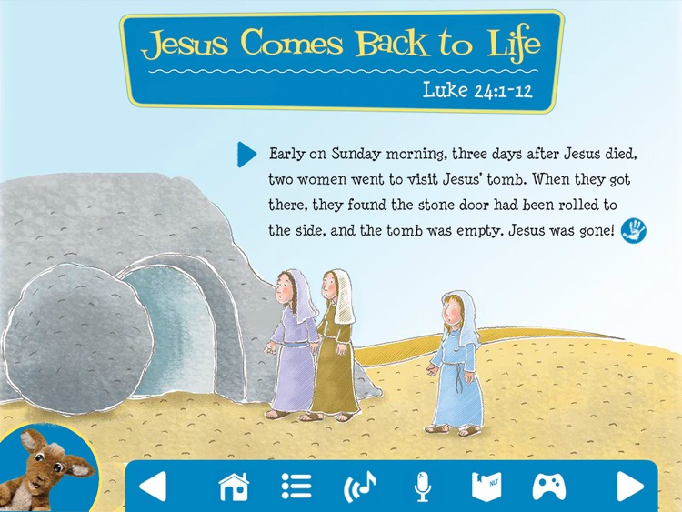 My First Hands-On Bible: The First Easter screenshot-3