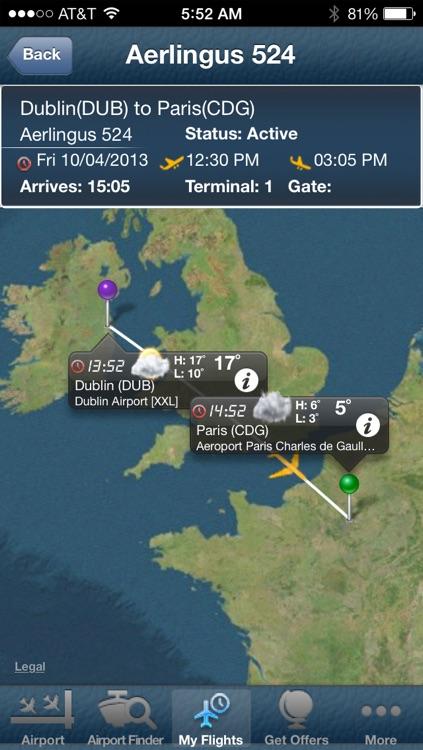 Paris Charles de Gaulle Airport + Flight Tracker