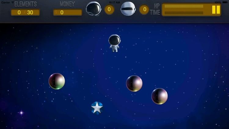 A Floating Dude In Space - Collect and Dodge screenshot-3