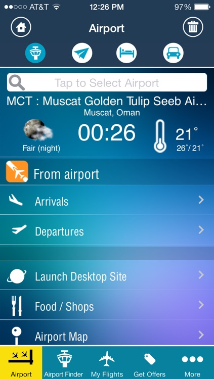 Muscat Airport -Flight Tracker Premium Oman Gulf Air