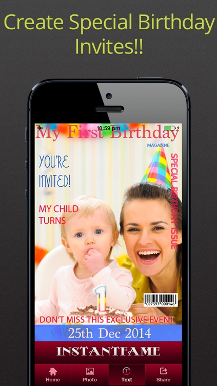 InstantFame -- Fake Magazines Cover Photo-Booth Apps
