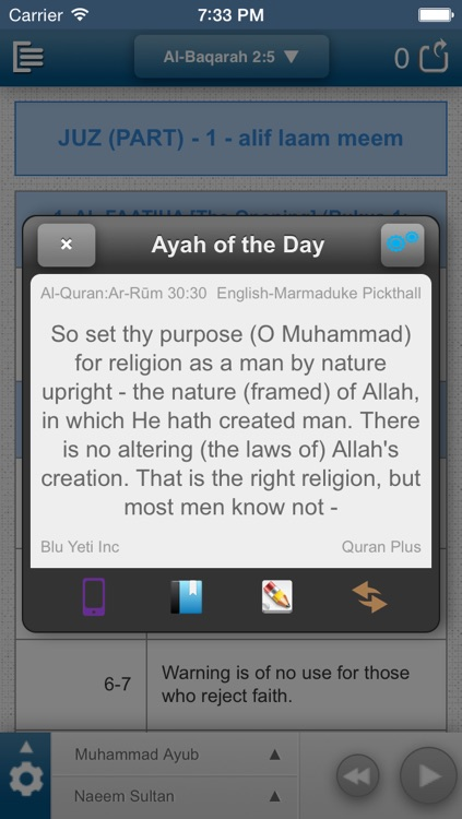 Quran Plus screenshot-0