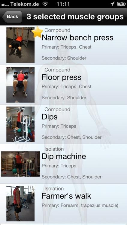100+ Fitness Exercises Free screenshot-4