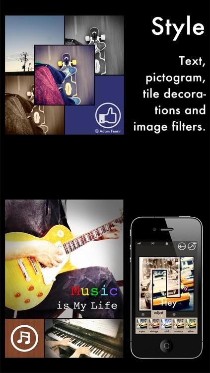 Tiled - modern frame app screenshot-3