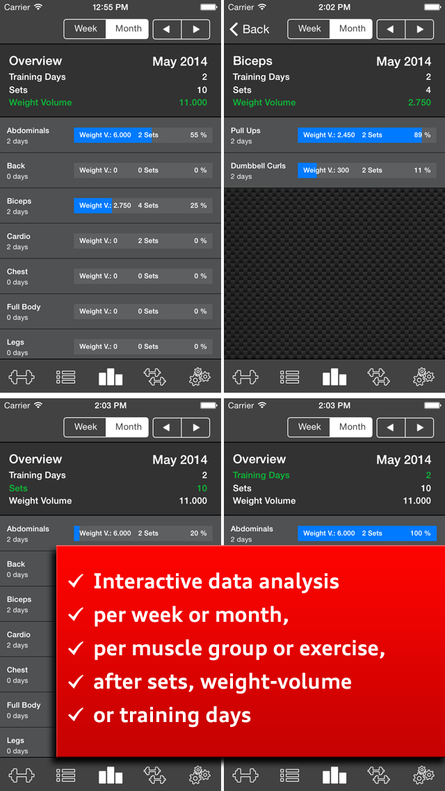 Gym Log Ultimate Pro - Plan and log workouts with the best fitness trackerのおすすめ画像4