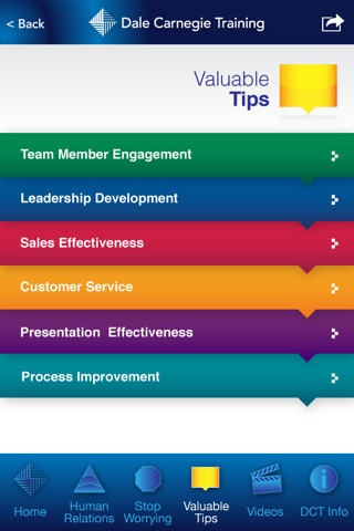 Screenshot of Secrets of Success