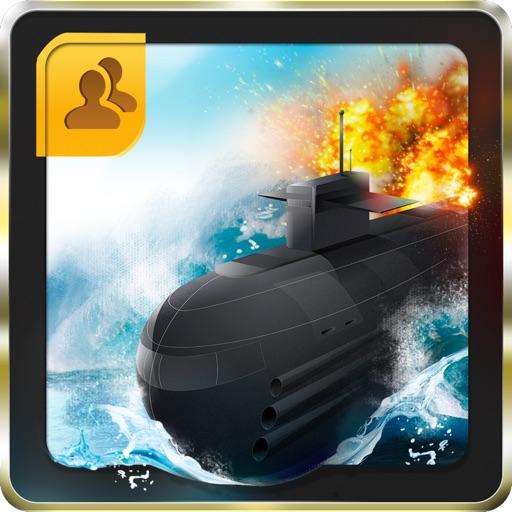 Awesome Submarine battle ship Free! - Multiplayer Torpedo wars