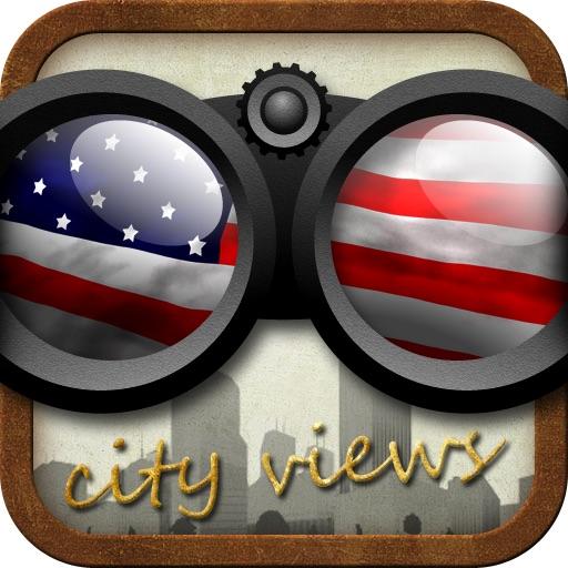 US Cities Historic Panoramic Views