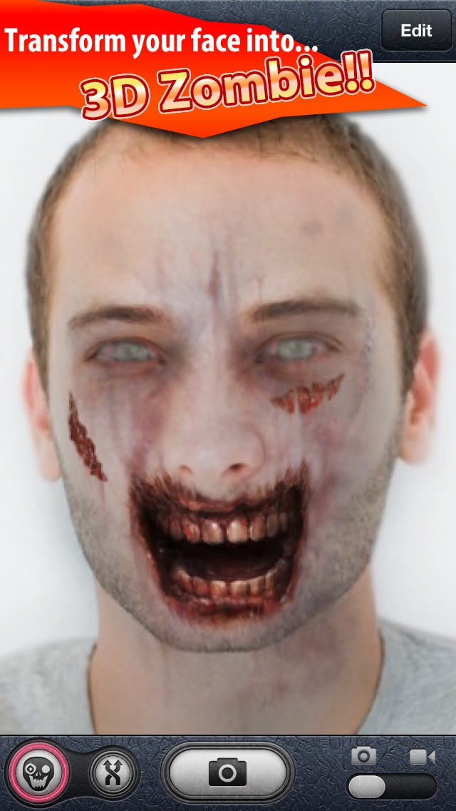 ZombieBooth Pro screenshot one