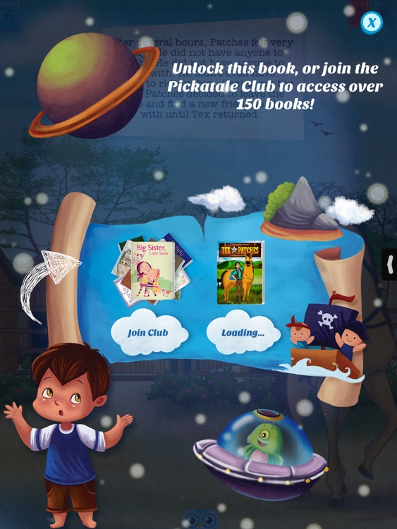 Tex and Patches - Have fun with Pickatale while learning how to read. screenshot-4