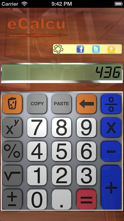 Calculator - eCalcu screenshot-3