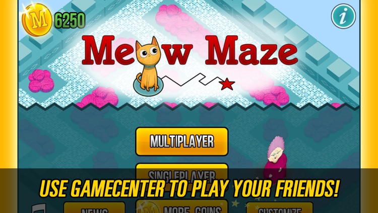 Meow Maze 3d Live Multiplayer Racing Pro screenshot-1